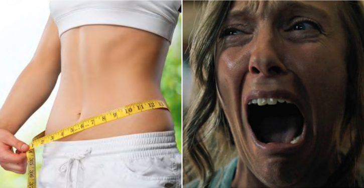کاهش وزن و فیلم ترسناک