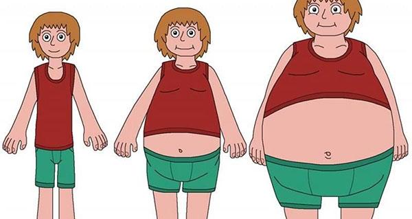 جوانه گندم و چاقی و لاغری