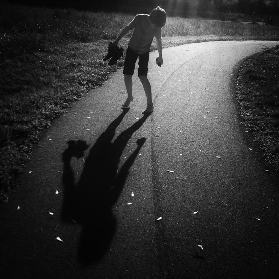 نور در عکاسی موبایل - آفتاب مستقیم